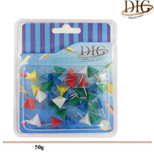 B1023 Push Pin(Triangular) 12G