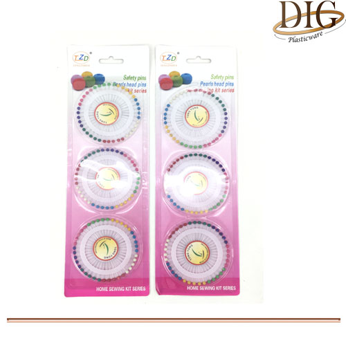 PN00613 3 PCS PEARLIZED PINS
