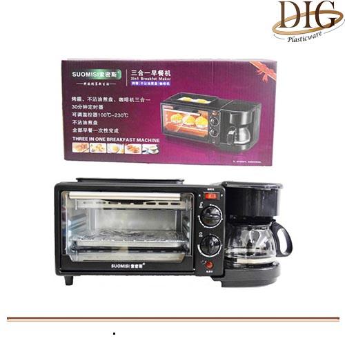 3 IN 1 COFFEE BREAKFAST MACHINE