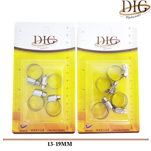 JN#HCPB1319 3 PCS WATER PIPE CLAMP BUCKLE W/SNAP RING