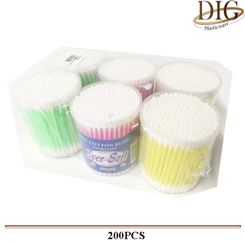 200 PCS COTTON BUDS