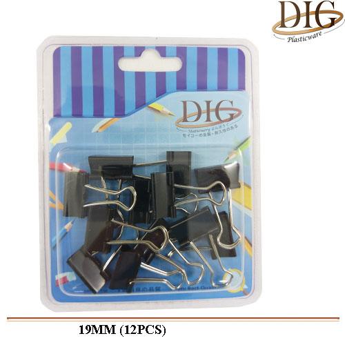 BDC19 Binder Clip 12pcs