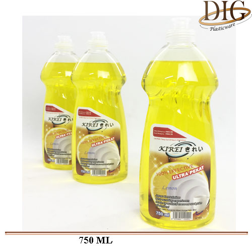 LE/750 KIREI DISHWASING LIQUID LEMON FLAVOR 750ML