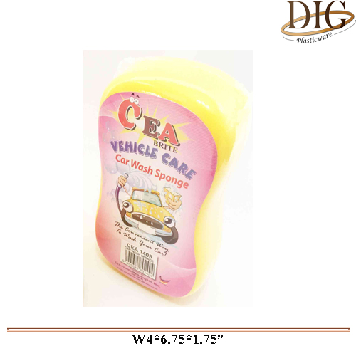 CEA1403 CAR WASH SPONGE - S