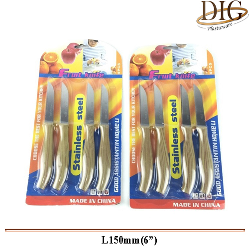 2010 FRUIT KNIFE 4 PCS