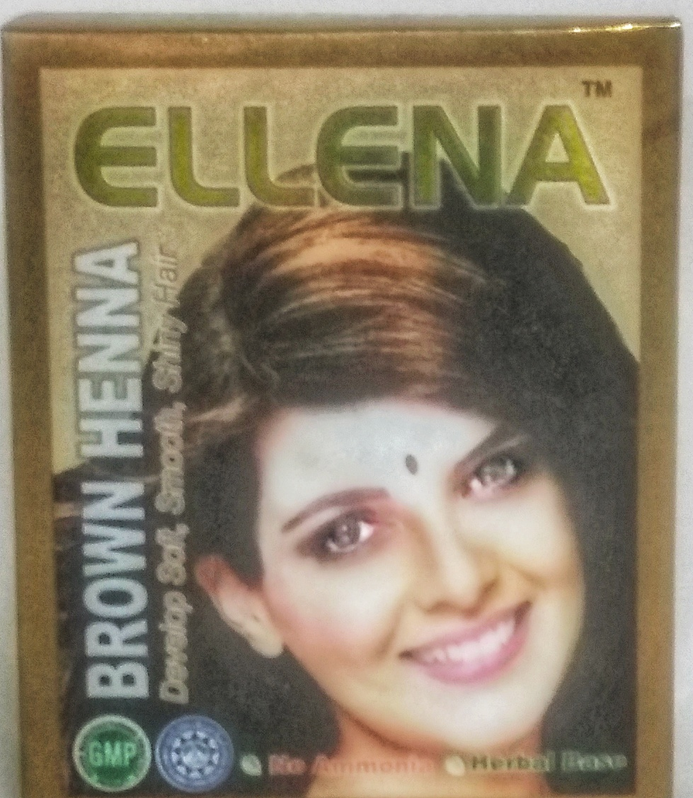 EH-BG Ellena Henna(Brown) 6Pkt/Box